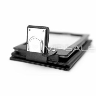Kindle Touch Black Leather Cover Case with Built in LED Reading Light