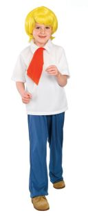 Scooby Doo Fred Child Halloween Kids Boys Costume