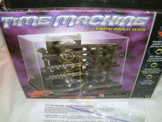Nice Kinetic Clock Rolling Ball Box Time Machine Keeper Case Can You