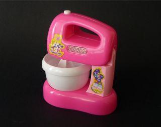 Girls Kids Toy Pink Toaster Food Mixer Washing Machine Lights Sound