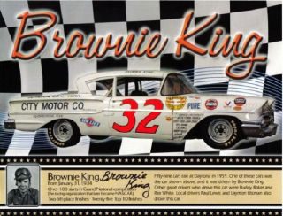 32 Brownie King City Motors 58 60 1 64th HO Scale Slot Car Waterslide