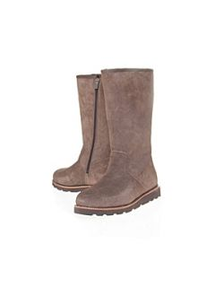 UGG Etta Calf Boots Taupe