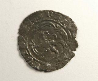 Medieval 15th Century Spanish COIN King Henry IV Castile Leon c1450