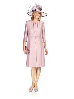 Jacques Vert Iced pink dress coat Pink
