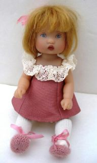 Kish DEBUT MIKI Doll 6 Vinyl Baby Rileys World Jointed Kiley Sister