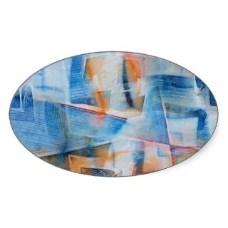 Boats and Blue Breezes Acrylic Art Stickers