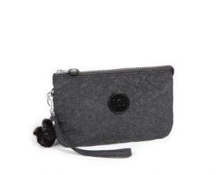 Kipling Creativity XL Large Purse Clutch Bag Black Heather BNWT RRP £