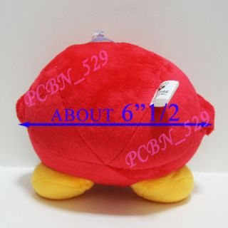 New Super Mario Brothers Plush Figure Red Kirby C