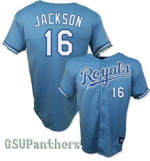 Kansas City Royals Alternate Blue Youth Sewn Jersey Sz M XL