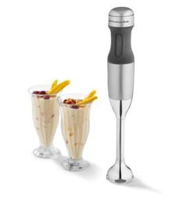 KitchenAid 3 Speed Immersion Blender, Contour Silver **Factory Sealed