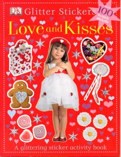 Love and Kisses Sticker Book Valentines Kids Book PB