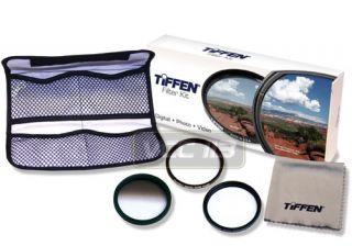 Tiffen Filter Kit 43mm UV C Pol Warming 3 Piece Photo Essentials 43mm