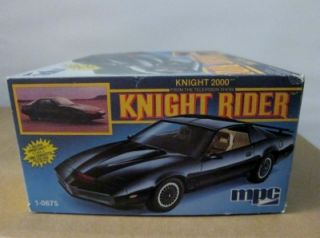 MPC Knight Rider 1 25 Model Kitt 1982 Trans Am MT OB 1 0675 1980S