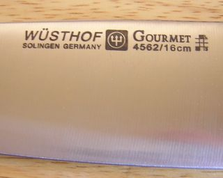 New Gourmet Chef Cooks Knife 6 inch 4562 Made in Germany
