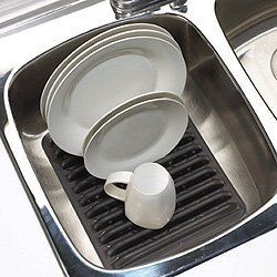 Quality Plastic Kitchen Sink Rack Dish Drying Rack   Protects Dry