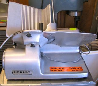 Hobart Meat Slicer 1612, Cheese, Kitchen, Restaurant, Deli, Cafeteria
