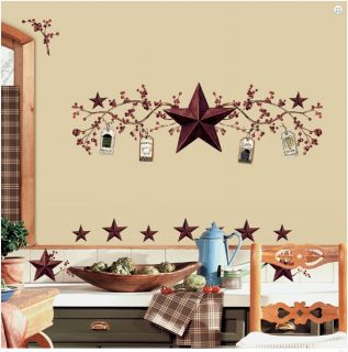 Stars & Berries Kitchen Wall Stickers Decal Tall Room Decor RoomMates
