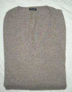KITON Napoli Sweater Brown 100 Cashmere Size 40 R 50 Euro Size New