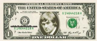 Pink Floyd Band Set 7CELEBRITY Dollar Bill Uncirculated Mint US