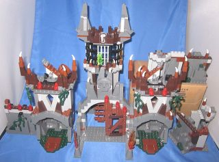 Lego 7097 Castle Trolls Mountain Fortress Kings Missing Figures Some