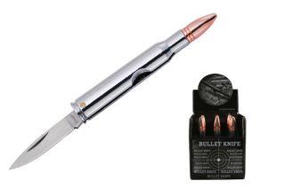 Bullet Handle Folding Pocket Knife Stainless Steel Blade New