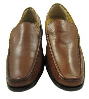 NWD Calvin Klein Mens Neil Dress Calf Brown Loafer Shoes US Left 12M
