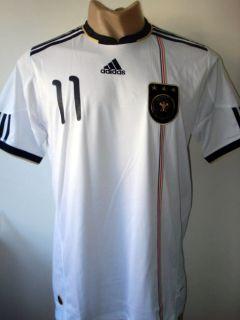 Original 2010 Germany Home Soccer Jersey Klose 11