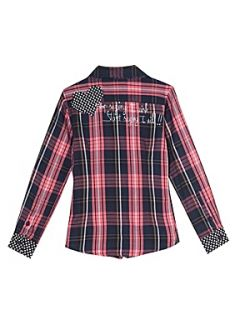 Desigual Girl`s shirt, long sleeve Red