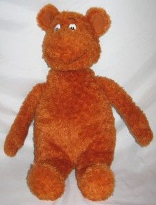 Kohls Cares Dr. Seuss Hop on Pop Brown Bear Plush Stuffed Animal Doll