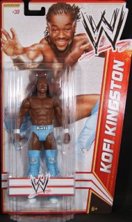 Kofi Kingston WWE Series 19 Mattel Toy Wrestling Action Figure