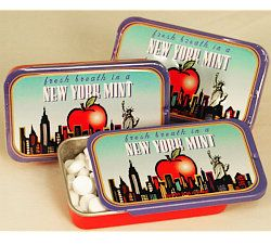 Big Apple Mints Souvenir Tin from New York City Online Gift Store