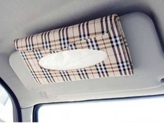 Car Sunshading Visor Tissue Holder Tissue Box