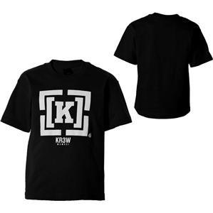 NWT KR3W Bracket Mens T Shirt Black White Assorted Sizes