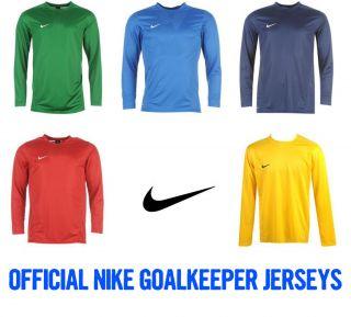 Nike Goalkeeper Mens Match Soccer Football Jersey Shirt Top Long