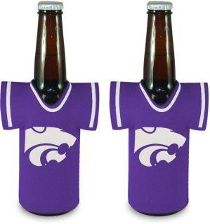 Kansas State Wildcats Logo Bottle Jersey Koozie 2 Pack