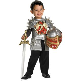 Knight of The Dragon Toddler Costume Knights Shining Armor King