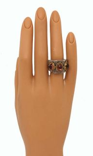 Konstantino 18K Gold Sterling Silver Turmaline Ring