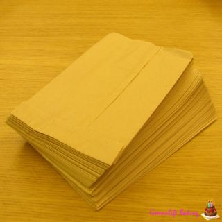 Kraft Brown Bread Lunch Paper Bags Gift Shopping Grocery Party Paper