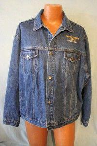 Lenny Kravitz 2002 Concert Tour Crew Only Denim Blue Jean Jacket