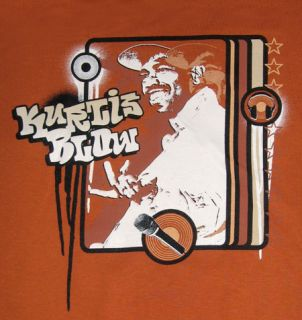 Kurtis Blow Retro Hip Hop Rapper T Shirt Tee Shirt XL