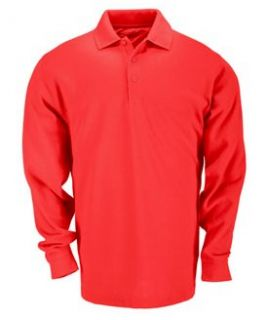 11 Mens Tactical Pro Work Polo Longsleeve Polo Shirt