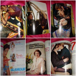 Schiffer John Kennedy Jr Kylie Bax Niki Taylor Vintage Ads 1999