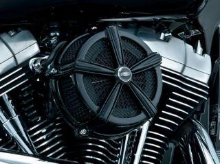 Kuryakyn 9554 Hi Five Mach 2 Black Air Cleaner Harley Touring 2008