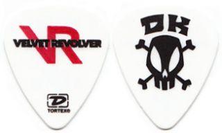 Velvet Revolver Guitar Pick Guns N Roses GNR Skull Concert Tour