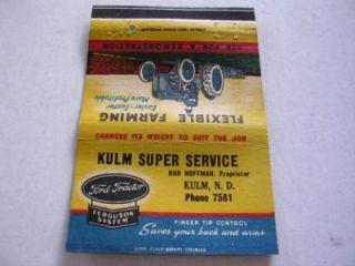 Kulm Super Service Ford Tractors Kulm North Dakota Royal Flash
