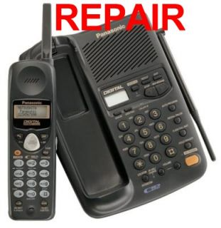 Panasonic Repair Service KX TC1743B KX TC1743W