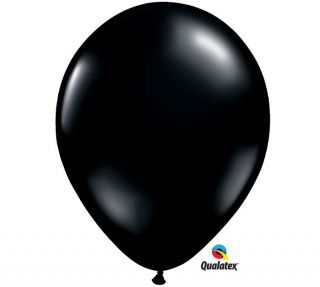 0NYX Black 11 Balloons Wedding Birthday Prom Halloween