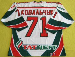 71 Authentic Kovalchuk Akbars Top Quality Jersey Russia Free Shipping