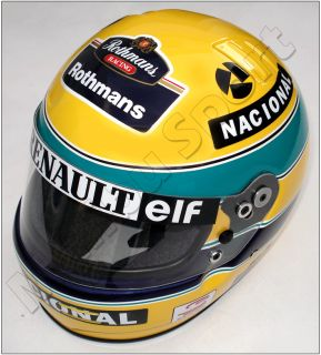 Ayrton Senna 1994 Renault Replica Helmet Full Scale 1 1