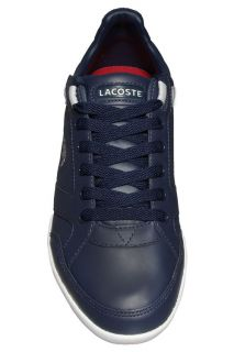 Lacoste Mens Shoes Telesio AG SPM Dark Blue Light Grey Leather 7
